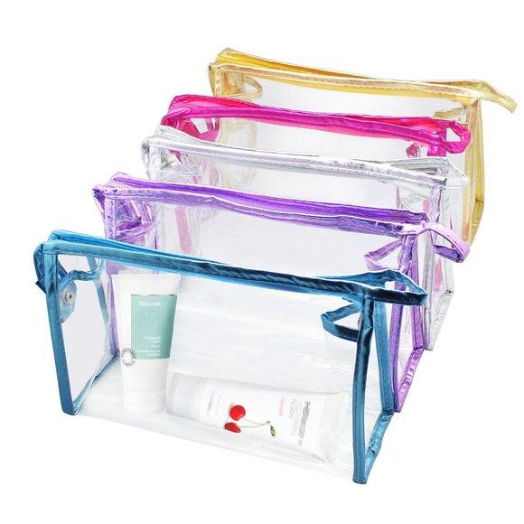 Meetory Handbags - Transparent Waterproof Cosmetic Bag